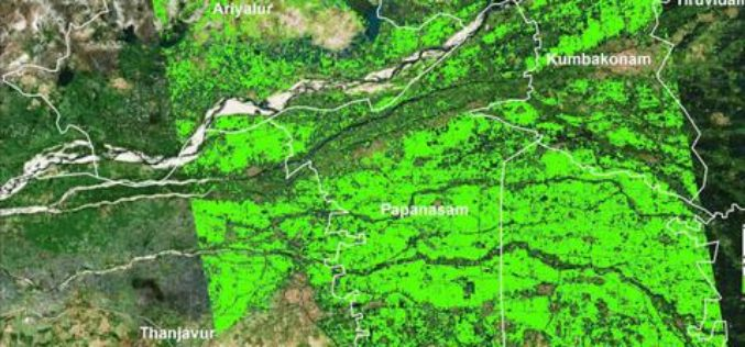 Researchers from TNAU Uses Satellite Images for Crop Management