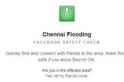 Google and Facebook Launched Crisis Response Modules to Chennai Flood