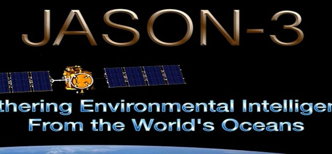 Jason-3 Successfully Launched