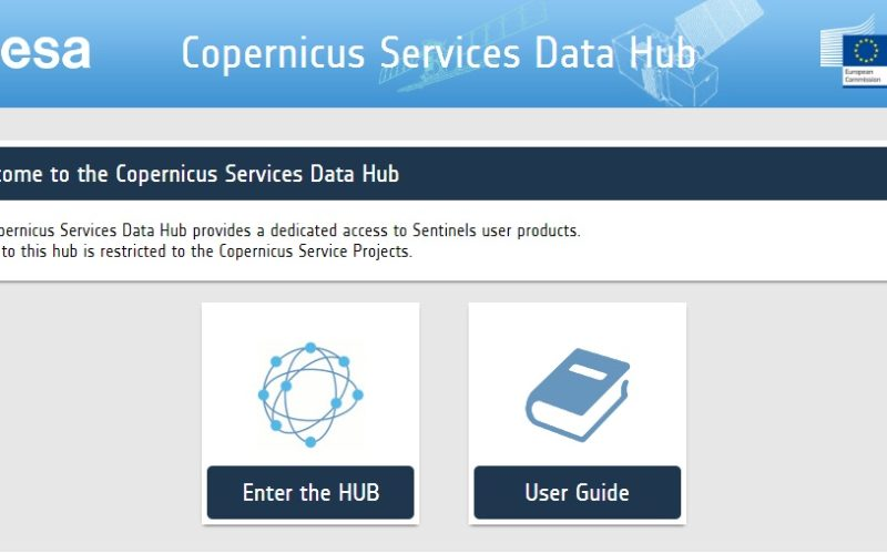 A New Sentinels Data Hub for the Copernicus Services