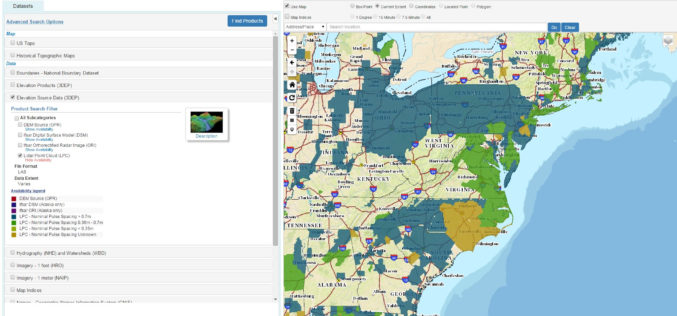 The National Map Data Download Enhancements