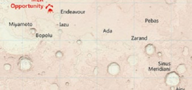 Ordnance Survey Has Created Map of the Martian Landscape