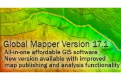 Global Mapper 17.1 Released with Improvements to Map Publishing and Analysis Tools