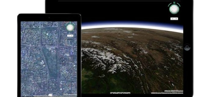 Meet HTML5 and the 3D Earth