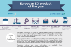 """The EARSC competition """"European EO product of the year"""""""