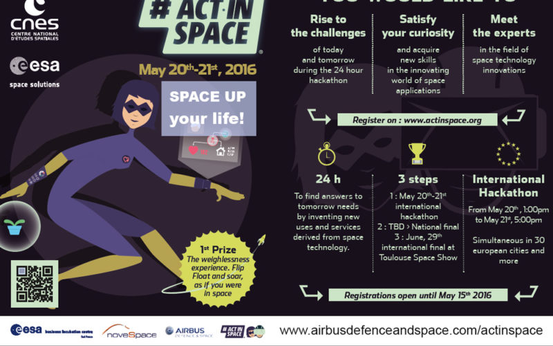ActInSpace: The Space Technology Challenge