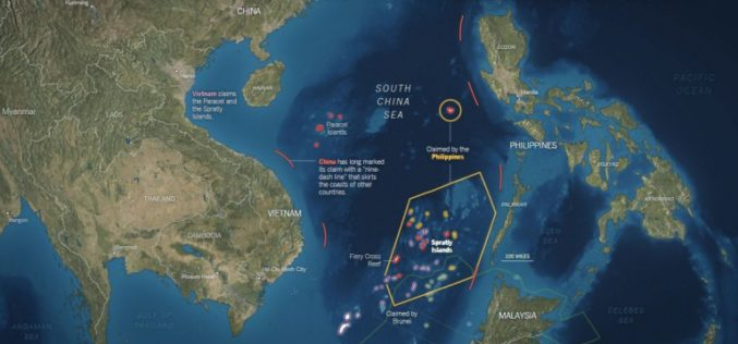 Old Map Denies the Philippines' Claim Over South China Sea