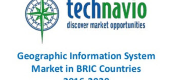 GIS Market in BRIC Nations at a CAGR Of 11.13% Between 2016-2020