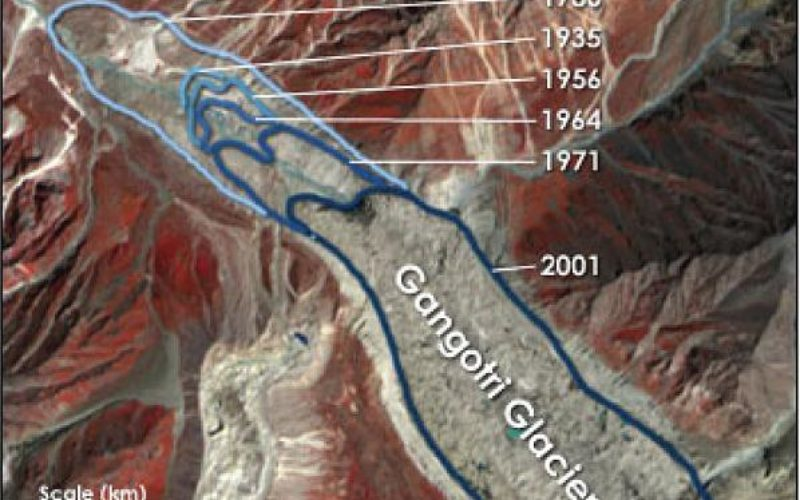 Remote Sensing Studies Reveals That Glaciers are Melting at 5 to 20 metre Rate Annually: India