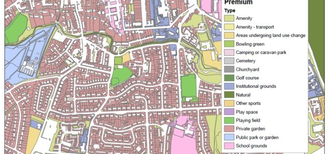 New Dataset of Accessible Greenspace for Scotland