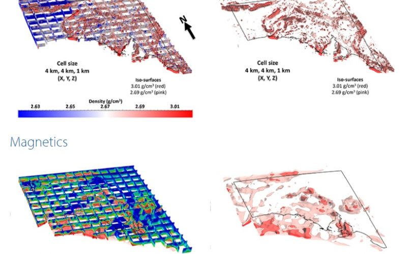 3D Geophysical Exploration Model Covers All South Australia