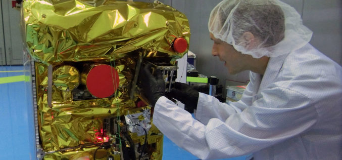 DLR Fire Detection Satellite BIROS Successfully Releases BEESAT-4 Picosatellite into Space