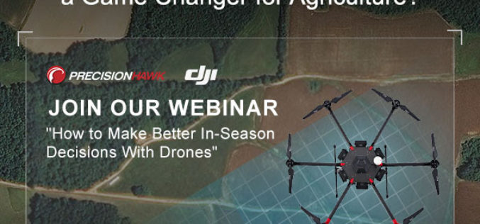 PrecisionHawk Webinar: Can Drones Really Be a Game Changer for Agriculture?