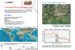 BigData Earth Develops New Location Profile Report for Worldwide Agricultural Land