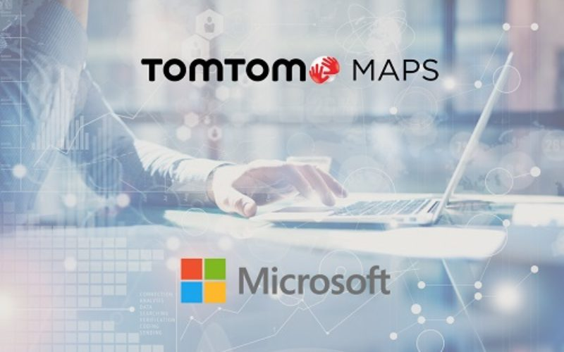 TomTom and Microsoft Join Forces to Bring Location-based Services to Azure