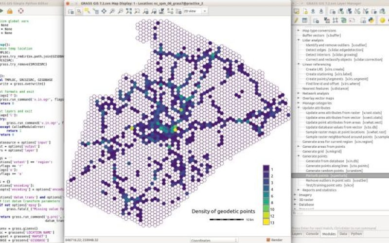 GRASS GIS 7.2.0 Released