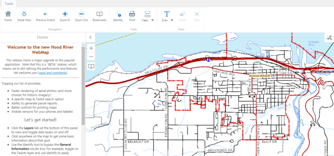 WebMap: Hood River County Releases New GIS Mapping Tool