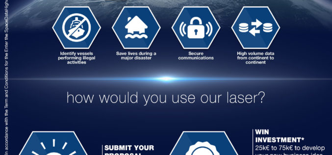 """Airbus Launches """"Enter the SpaceDataHighway"""" Challenge"""