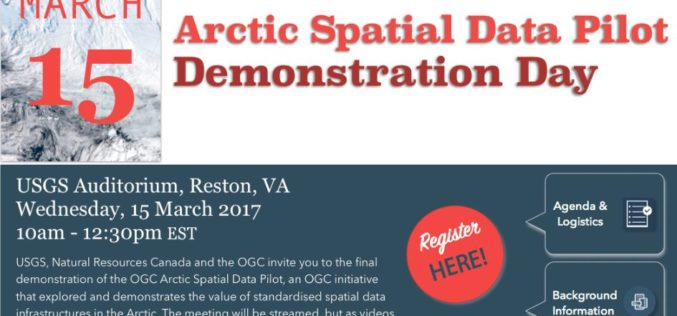 OGC Invites You to the Arctic Spatial Data Pilot Demonstration