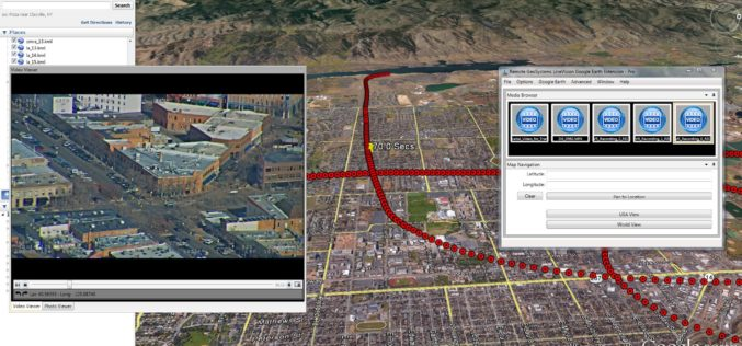 Remote GeoSystems Launches LineVision Google Earth Extension for Project Reporting with Geotagged Videos & Photos
