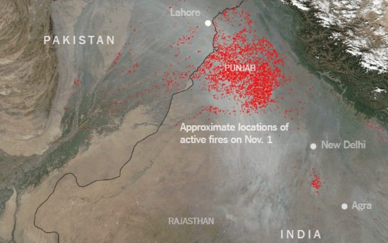 Punjab to use Remote Sensing and SMS Technology to Battle Against Crop Residue Burning