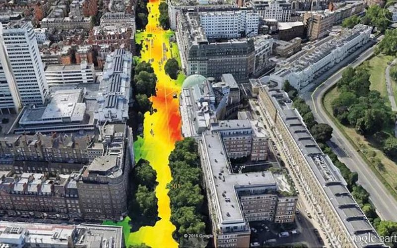 EarthSense Systems Computer Models Impact of Trees on Urban Air Pollution
