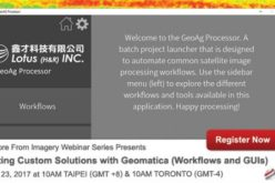 PCI Geomatica Webinar Series: Creating Custom Solutions with Geomatica (Workflows and GUIs)
