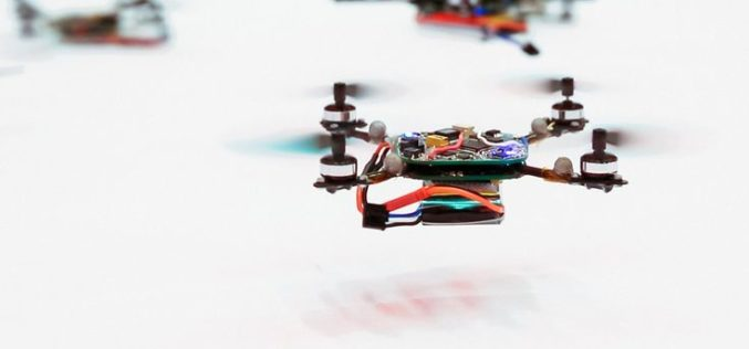 Swarms of Drones to Map Oil Spill