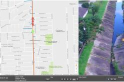 Georeferenced Video, an Alternative to Aerial Photogrammetry