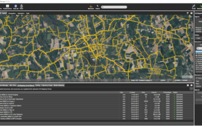Orbit GT Releases Mobile Mapping Content Manager v17.1 With Cloud Upload Feature