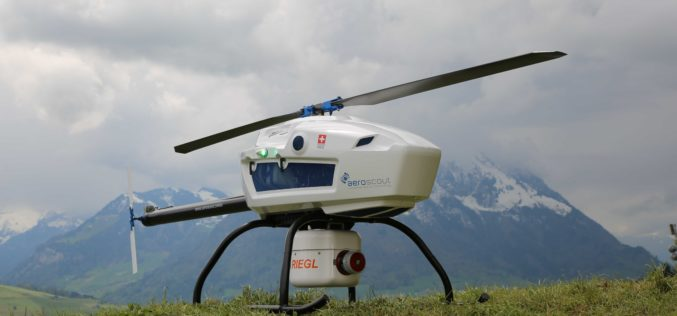 Swiss-based UAV Pioneer Aeroscout Introduced Their New Scout B-330 UAV Helicopter to the North American Market