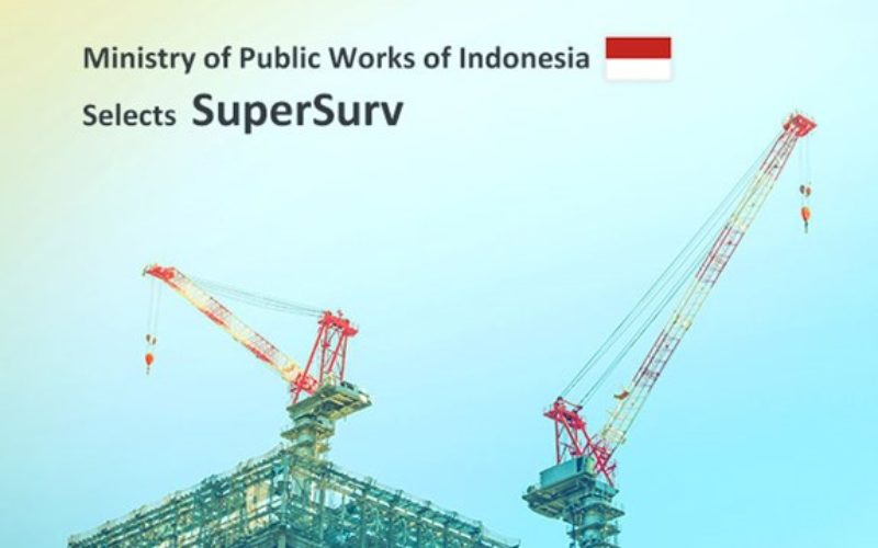 Ministry of Public Works of Indonesia Selects SuperSurv