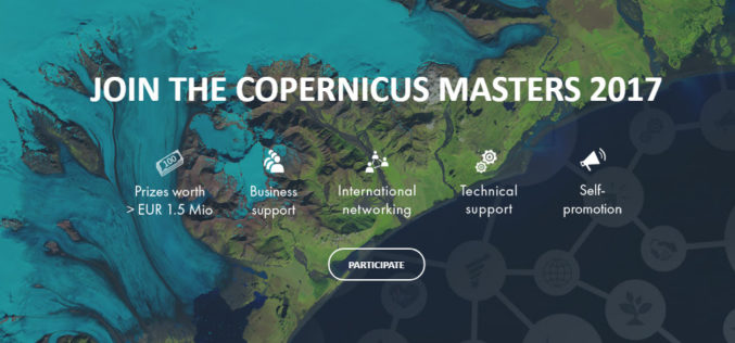 The Copernicus Masters Competition Countdown is On! Sign Up by 30 June