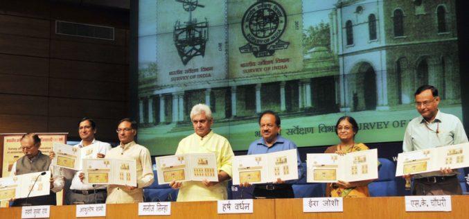 Survey of India Strives to Keep India Among the Best Surveyed Countries in the World-Manoj Sinha