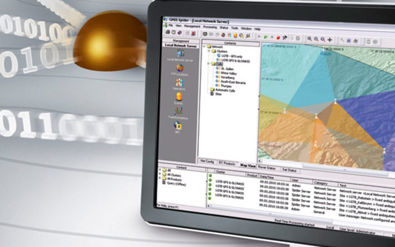 Leica Geosystems' GNSS Networks Now Support Galileo, QZSS