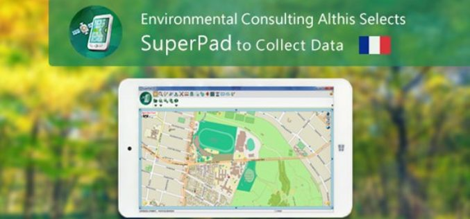 French Environmental Consulting Althis Selects SuperPad to Collect Data