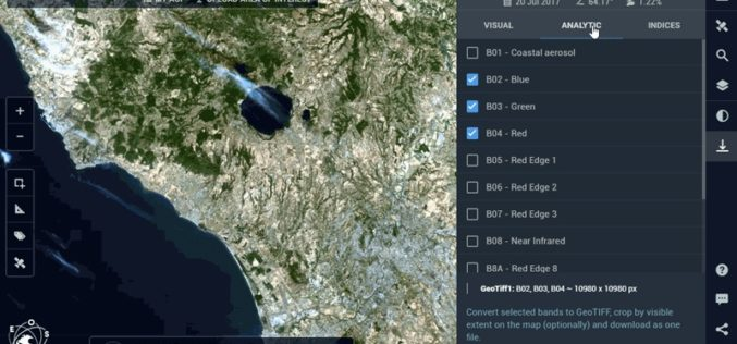Work Easier with Satellite Images – LandViewer Launches New Features