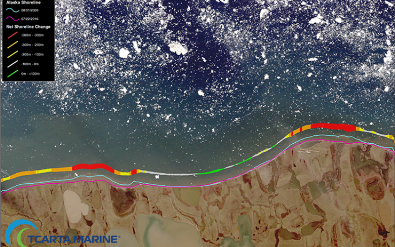 TCarta Marine Changes the Way Dynamic Environments are Managed and Monitored with Introduction of Vector Shorelines