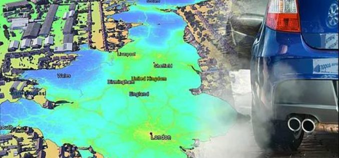 EarthSense Release New Nationwide Map of Air Pollution. MappAir