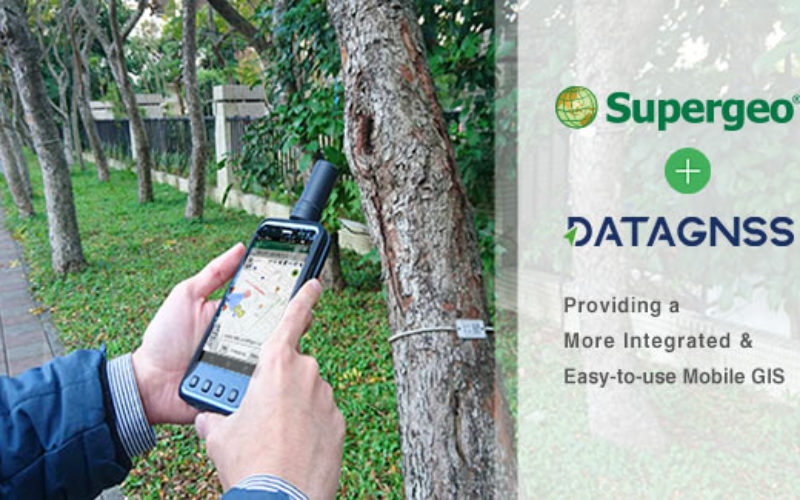 Supergeo Teams up with DataGNSS to Provide a Cost-effective RTK Solution