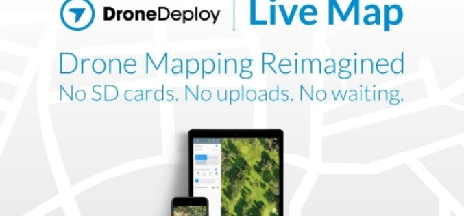 DroneDeploy Launches Real-Time Mapping for Instant Aerial Data and Analysis