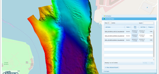 Real-time Mapping and Visualization in CARIS Onboard 2.0