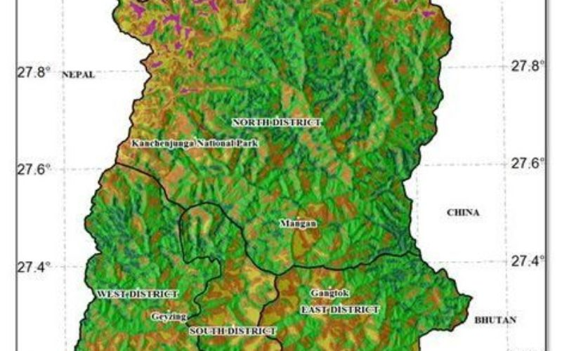 Geodiversity Map of Sikkim Himalayas to Aid Conservation