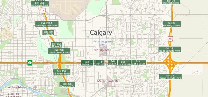 Free Highway Exits & Interchanges Data for Use with Maptitude 2018
