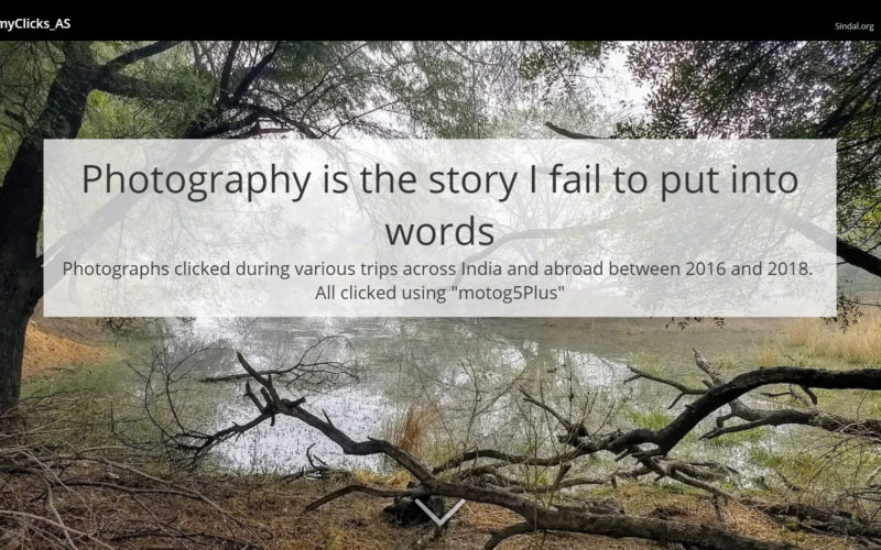 Photography Is the Story I Fail to Put Into Words – Destin Sparks
