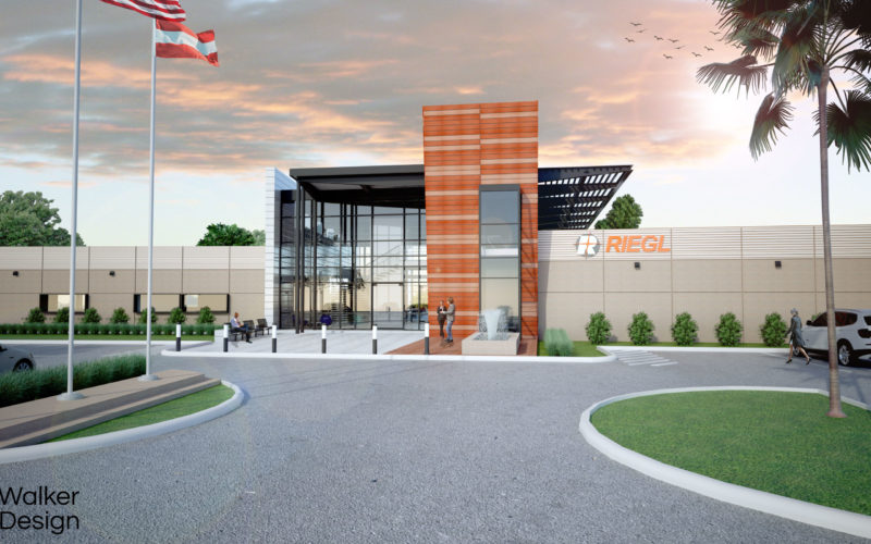 RIEGL Continues on Course for Success: RIEGL Invests in New Office and Production Facilities!