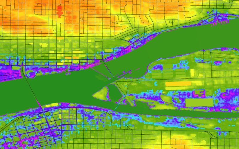 Highlight the Risk in Real Estate with Digital Elevation Model Data   cloudeo