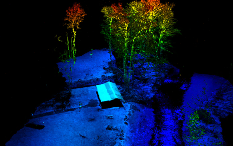 RedTail LiDAR Systems Supports Wounded Veterans Through Stream Restoration