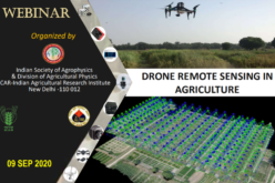 Full-Day Webinar on Drone Remote Sensing in Agriculture