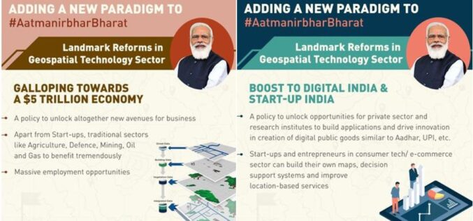 India Liberalizes Guidelines for Acquiring and Producing Geospatial Data and Geospatial Data Services Including Maps